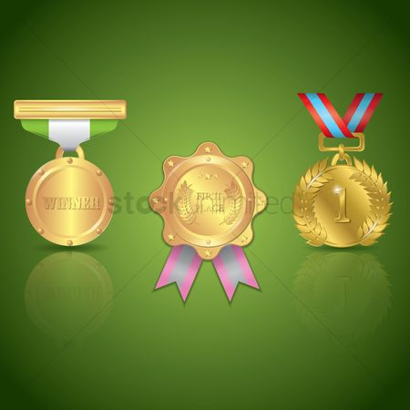 Medal : Collection of winner prizes