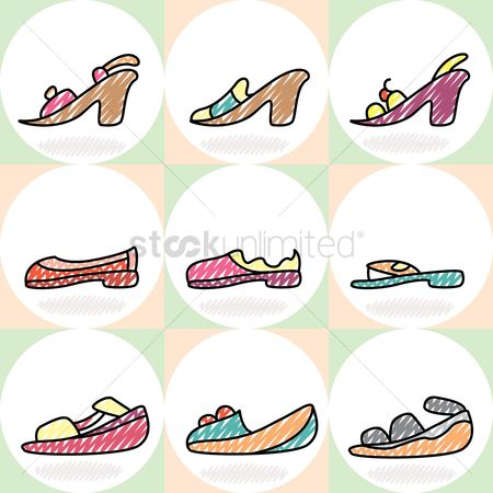 Sandal : Collection of women shoes