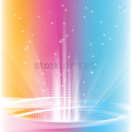 Sparkle : Colorful background design