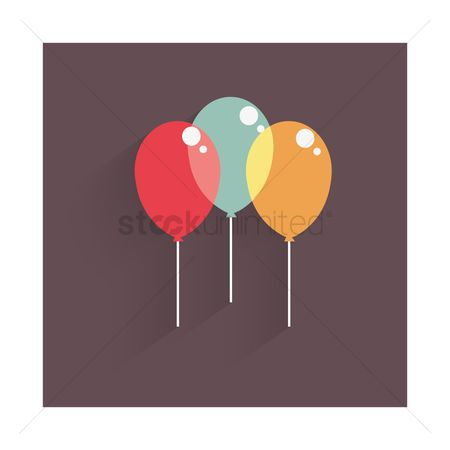 Funfair : Colorful balloons