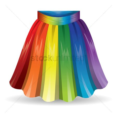 Skirt : Colorful skirt