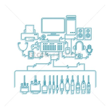 Audio : Computer components with peripheral devices