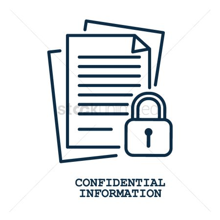 Securities : Confidential information concept