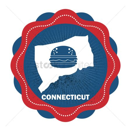Connecticut : Connecticut state map