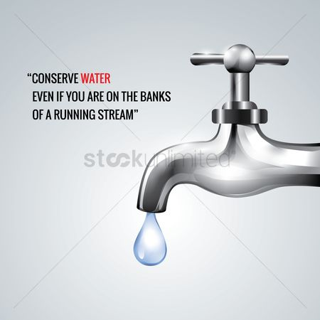 Faucets : Conserve water