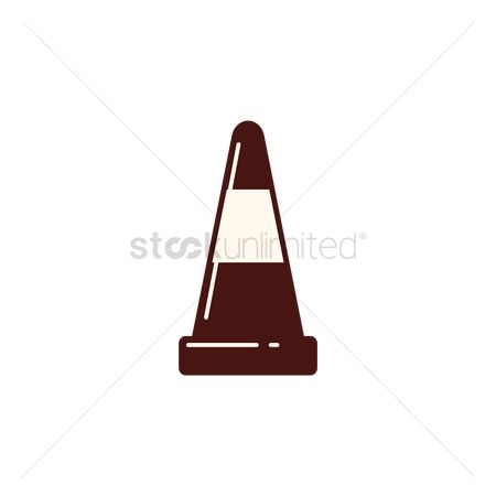 Barrier : Construction cone
