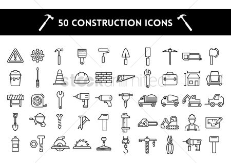 Transport : Construction icons