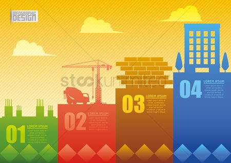 Brick : Construction infographic