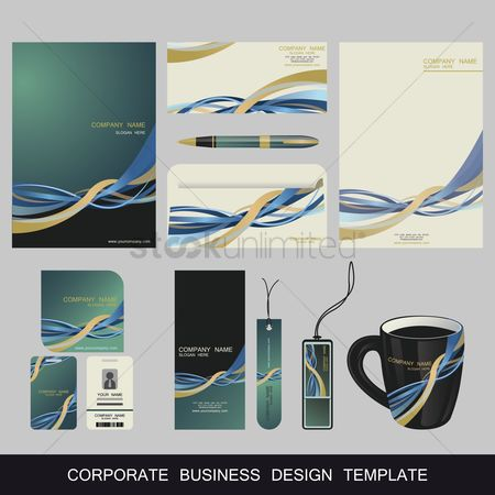 Cup : Corporate business design template