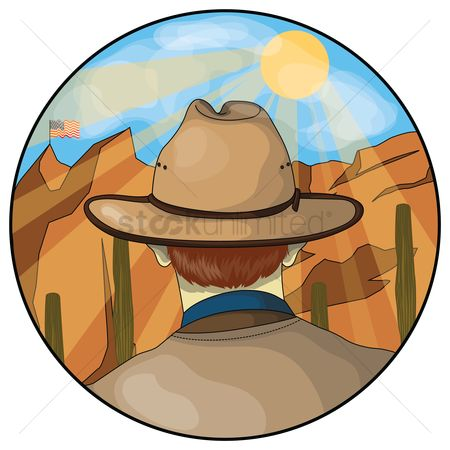 Backview : Cowboy