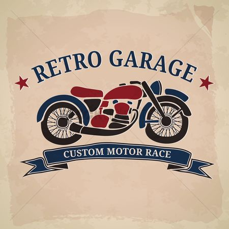 Old fashioned : Custom motor race