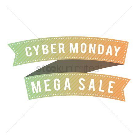 Terms : Cyber monday mega sale banner