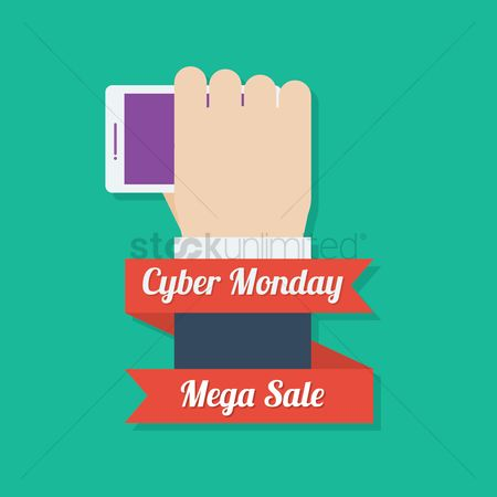 Terms : Cyber monday mega sale icon