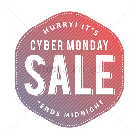 Terms : Cyber monday sale label