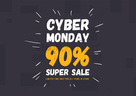 Store : Cyber monday super sale wallpaper