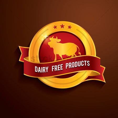 Dairies : Dairy free products label