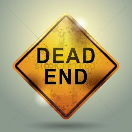 Roadsigns : Dead end sign