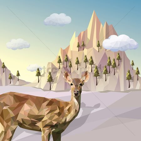 Polygon : Deer