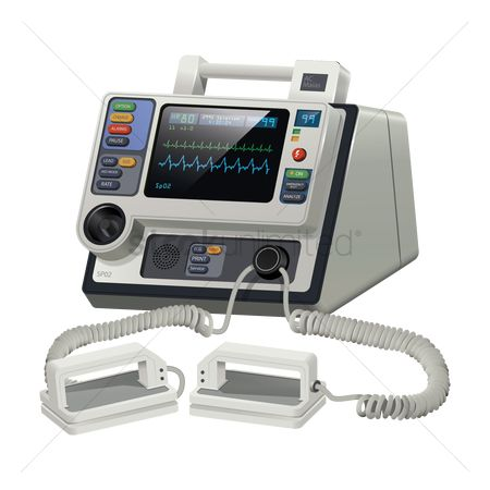 Clinicals : Defibrillator unit