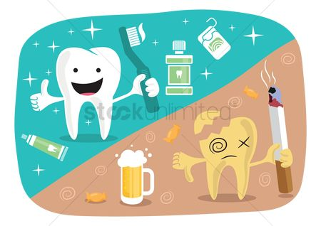 Health : Dental care concept