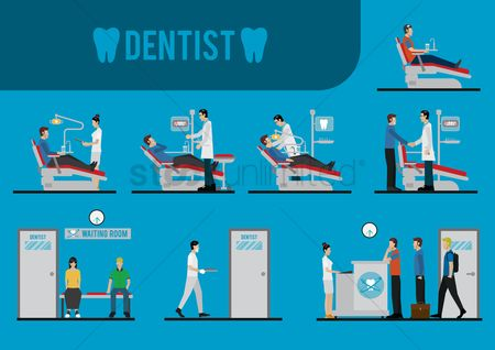 Hospital : Dental icons