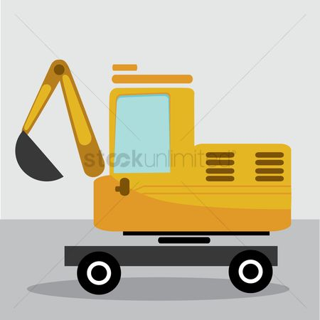 Machineries : Digger truck