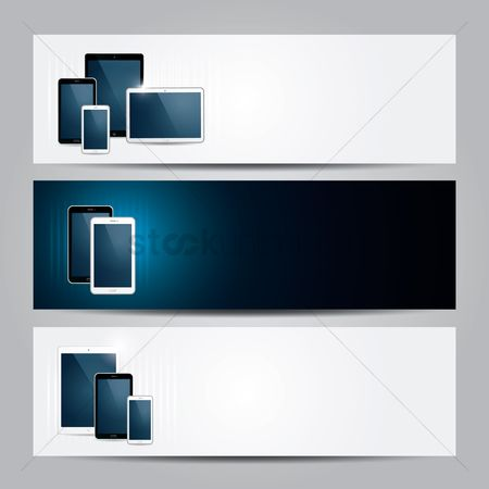 Screens : Digital device banners