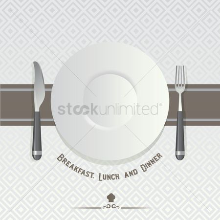 Plates : Dining poster