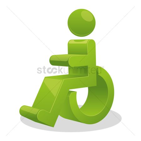 Wheelchair : Disability sign