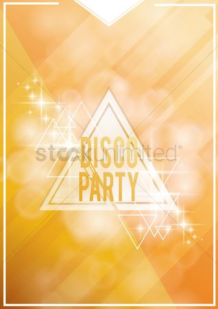 Sparkle : Disco party design