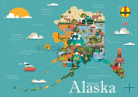 Mountains : Discover alaska