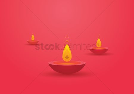 Illumination : Diya lamp