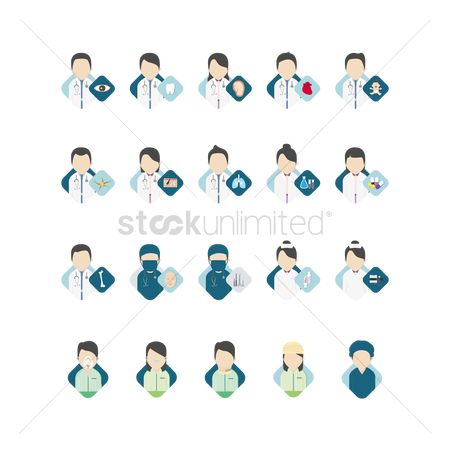 Surgeon : Doctor icons