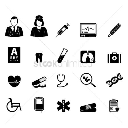 Wheelchair : Doctor icons
