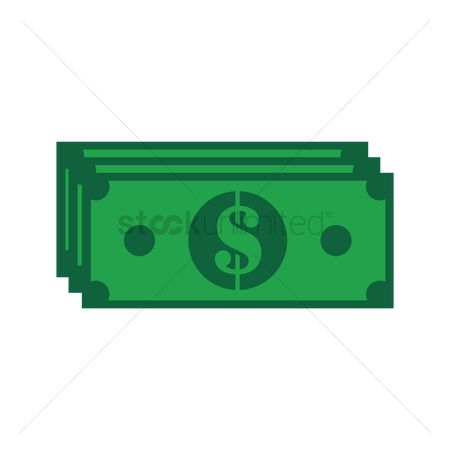 Profits : Dollar bill note