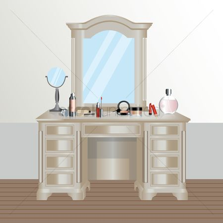 Brushes : Dressing table