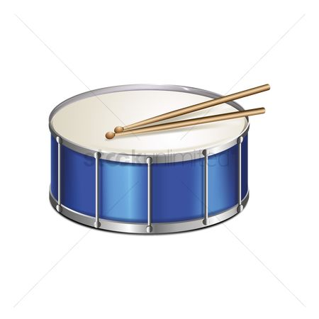 Drums : Drum and sticks