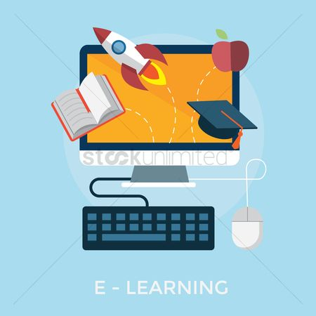 Journals : E-learning concept