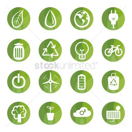 Recycle bin : Ecology icons