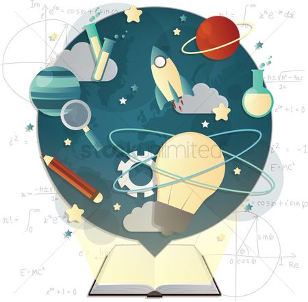 Magnifying : Education concept design