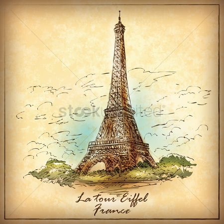 Monuments : Eiffel tower