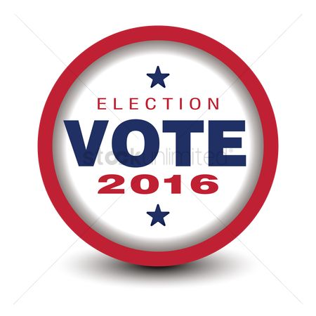 free election day badge stock vectors stockunlimited rh stockunlimited com Family Clip Art Free Vote Today Clip Art