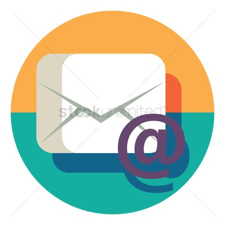 Electronic : Email icon