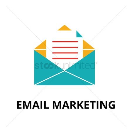 Communication : Email marketing concept