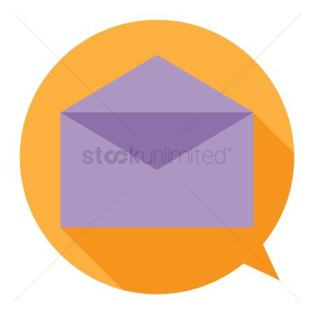 Comment : Envelope icon