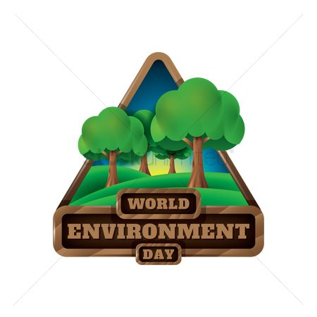 Save trees : Environment label