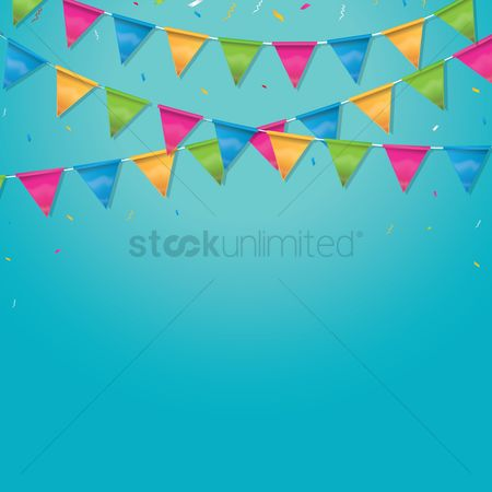 Borders : Event bunting design