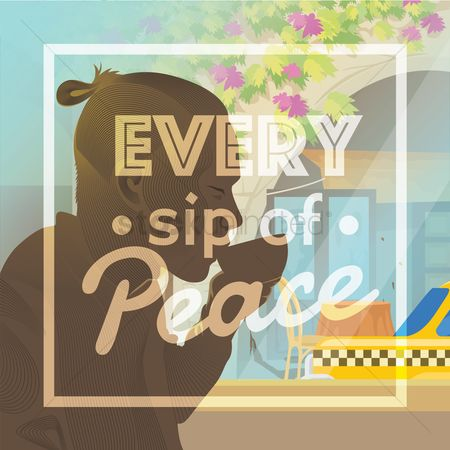 Taxis : Every sip of peace design