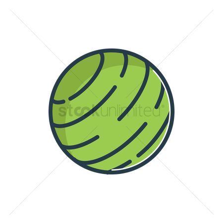 Strength exercise : Exercise ball