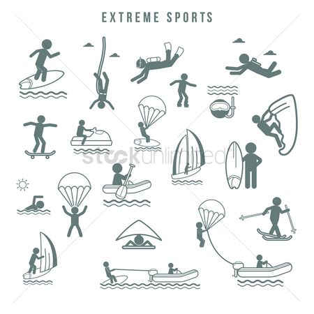 Activities : Extreme sports collection